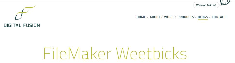 Logo for Weetbicks