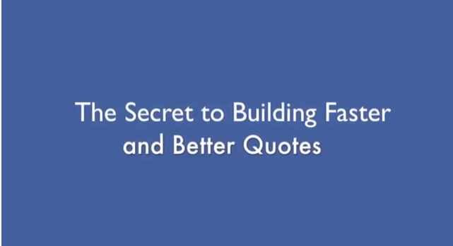 How to Make Better and Faster Quotes – Hot Tip #3 – YouTube