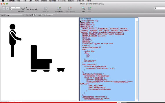 """HTML5 and FileMaker Web Viewer pt 2 """"Displaying HTML in a Web Viewer"""""""