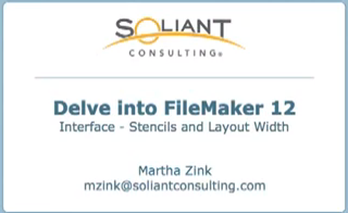 Delve into FileMaker 12 – Interface – Screen Stencils & Explicit Layout Width