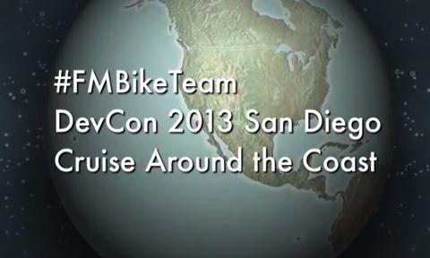 #FMBikeTeam FileMaker DevCon 2013 San Diego Bike Ride – YouTube