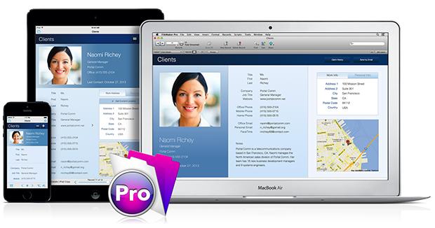 FileMaker on iPad, iPhone