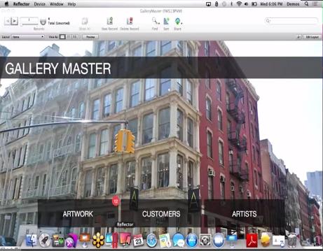 User Group Screen shot