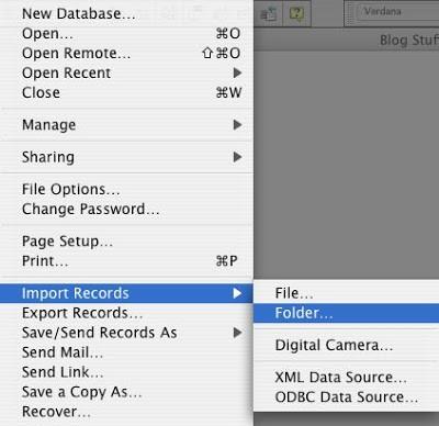 Folder Import Example