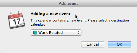 Calendar Example–Add Item