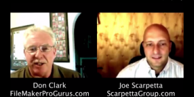Picture of Joe Scarpetta and Don Clzrk
