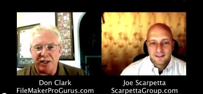 Picture of Joe Scarpetta and Don Clzrk