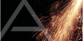 Photo of an sparks flying