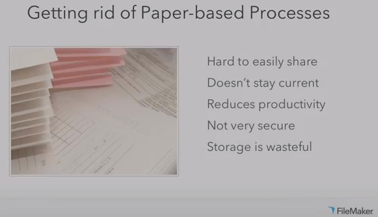 List of reasons for Getting Rid of Paper