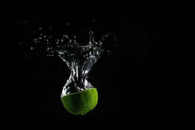 Half a LIme falling