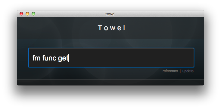 Image of Towel app