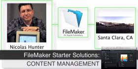 FileMaker Starter Solution Slide