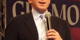 Joe Monata on stage