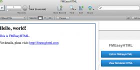 Screen shot of Easy HTML