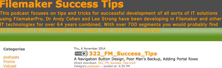 FM Success tips 322