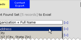 Example of Export file