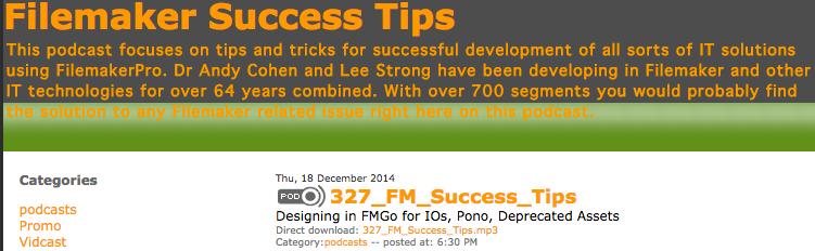 Success tips 327
