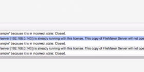 Error code from Server Install