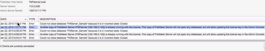 What's up with that, FileMaker?