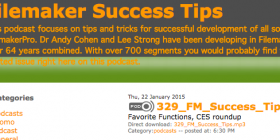 FileMaker Success Tips 329 details