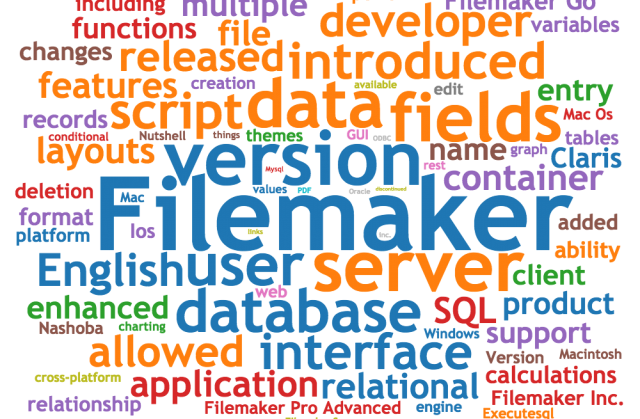 FileMaker Example Files List