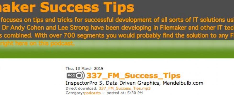 FileMaker Success Tips 337
