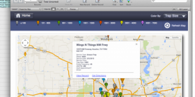 Multi point google map example
