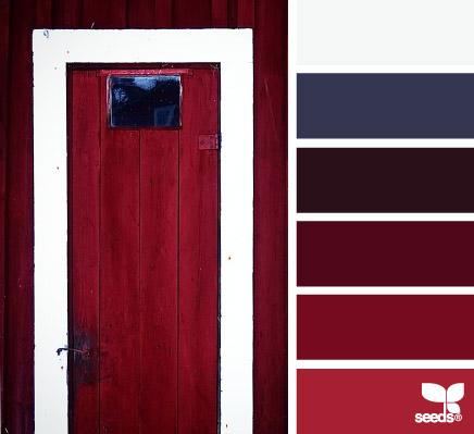 A red door design