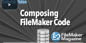 Composing FileMaker Code