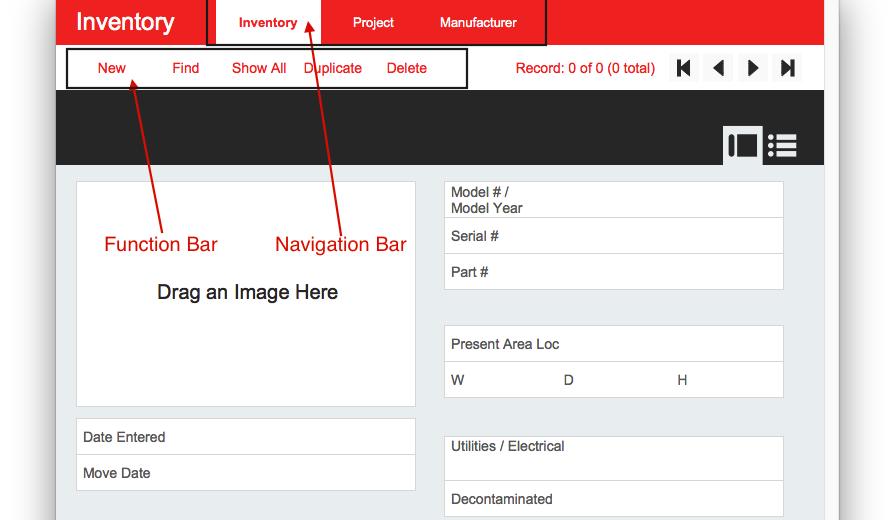 FileMaker Button Bar