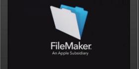 FileMaker 14 on an iPad