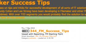 FileMaker Success Tips 344