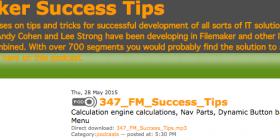 Filemaker Success Tips 347