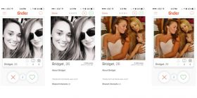 Tinder Design example