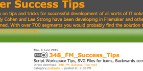 Filemaker Success Tips 348