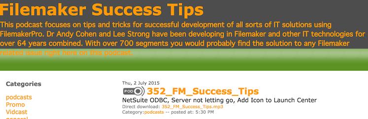 FileMaker Success Tips 352