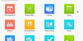FileMaker Pro 14 Launch Window