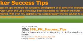 Filemaker Success Tips 358