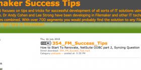 FileMaker Success Tips 354