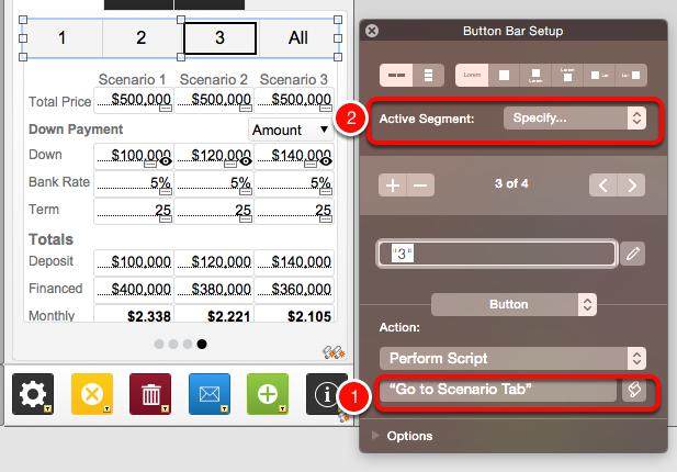 FileMaker Go 14: Keeping Button Bars and Slide Panels in Sync