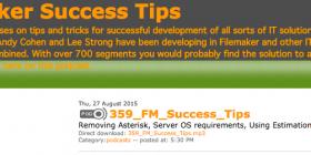 Filemaker Success Tips 359