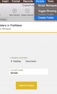 Creating OS folders