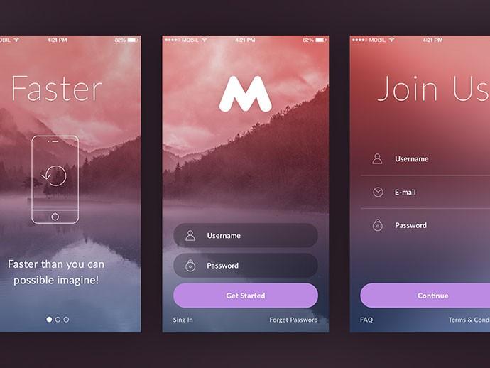 50 Modern Sign-Up & Login Form UI Designs - FileMakerProGurus