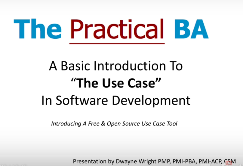 Use Case Builder — thePRACTICALba