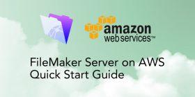 FileMaker Server on Amazon Web Services