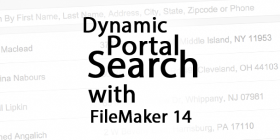 Dynamic Portal Search