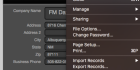 FileMaker Recovery Tool