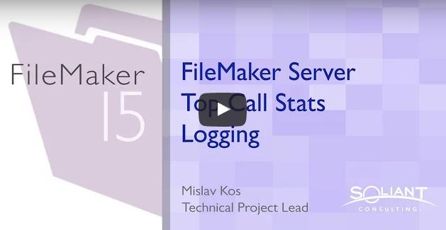 FileMaker Server Top Call Logging