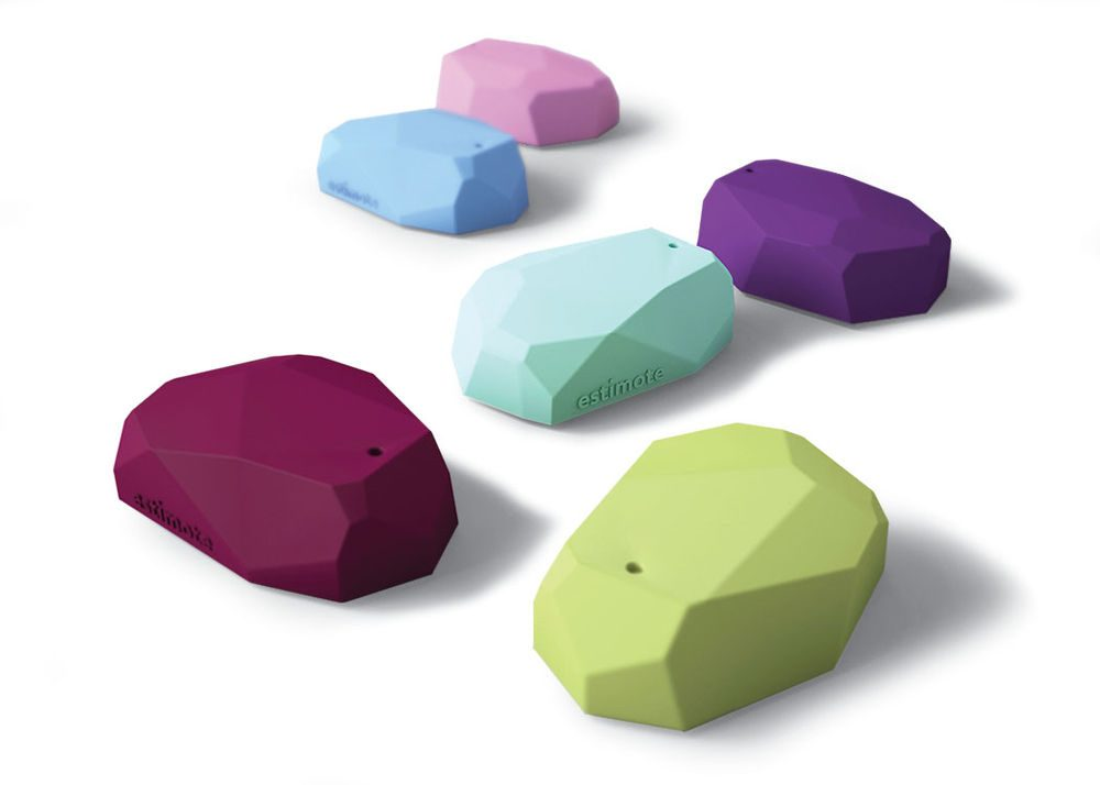 Different colored iBeacons