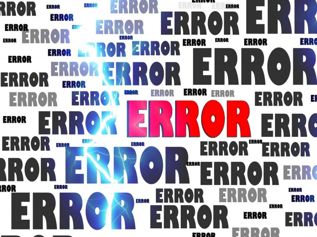 Errors and Bug Fixes